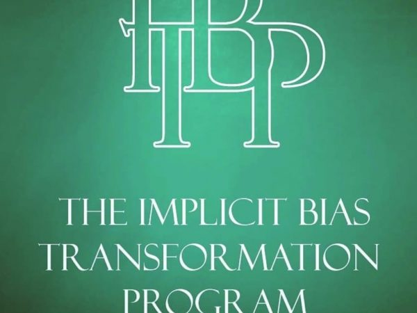 Implicit Bias Transformation Program by Siobahn Hotaling